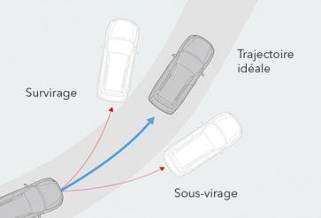 Contrôle de la dynamique du véhicule