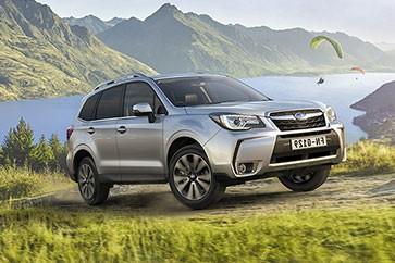 Gamme Subaru Forester