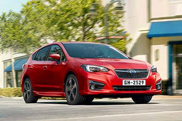 Gamme Subaru Impreza